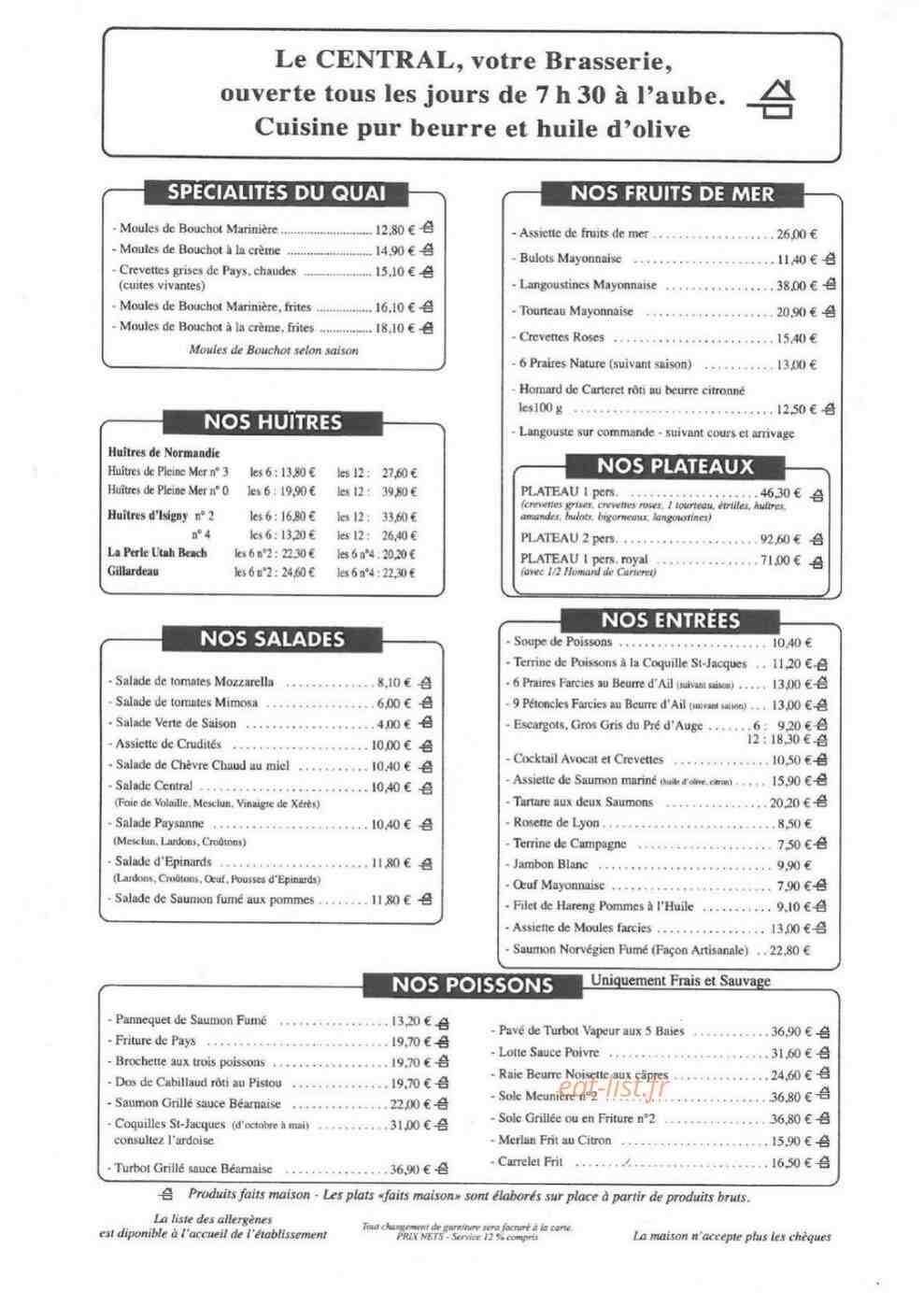 Où manger des moules frites à Trouville?