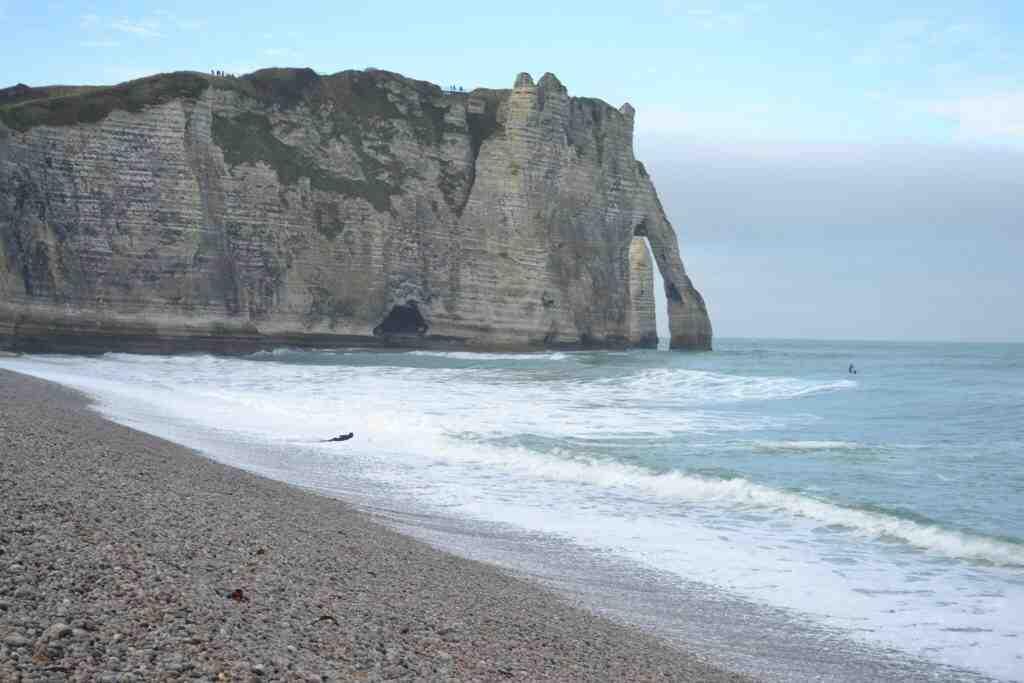 Où voir des falaises en Normandie?