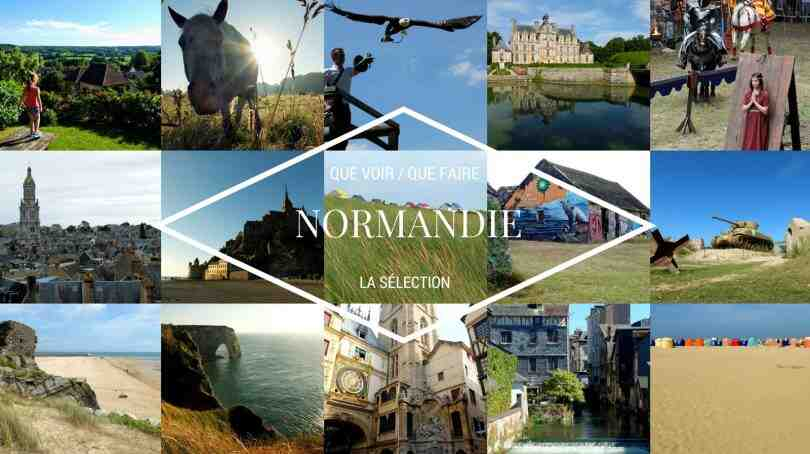 Où voyager en Normandie le temps d'une journée?