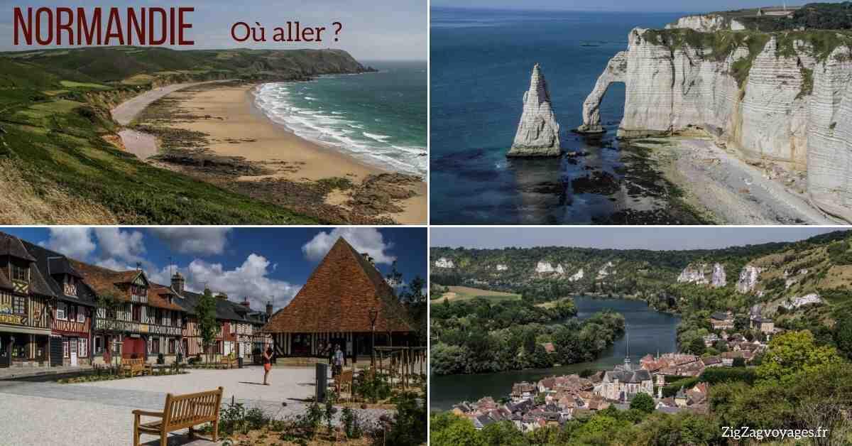 Où partir en Normandie en couple?