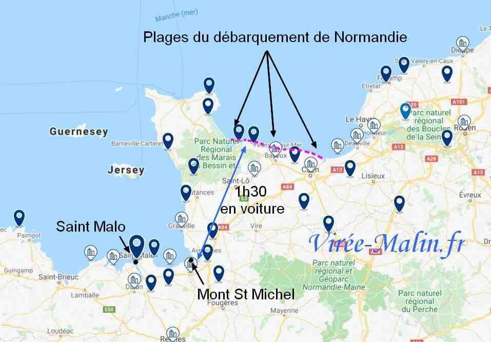 Quelle est la meilleure ville de Normandie?