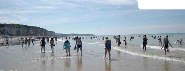 Quelle plage ouvre en Normandie?