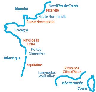Quelles plages sont ouvertes dans le Calvados?