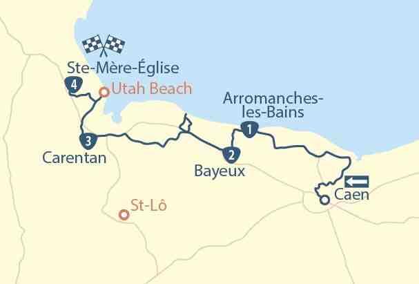 Où visiter un bunker en Normandie?