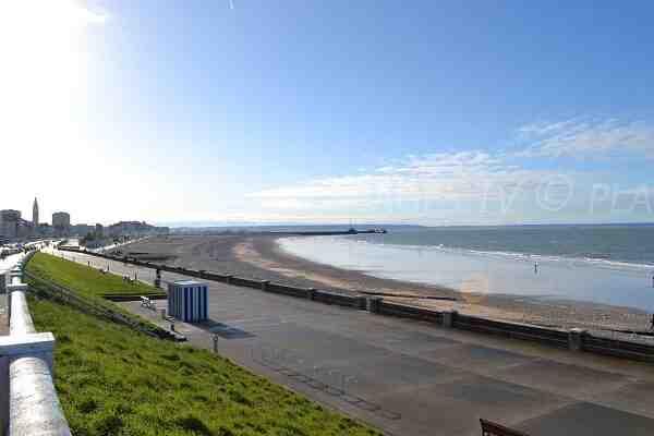 Quel est le nom de la plage du Havre?