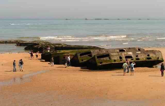 Quel est le nom des 5 plages du débarquement ?